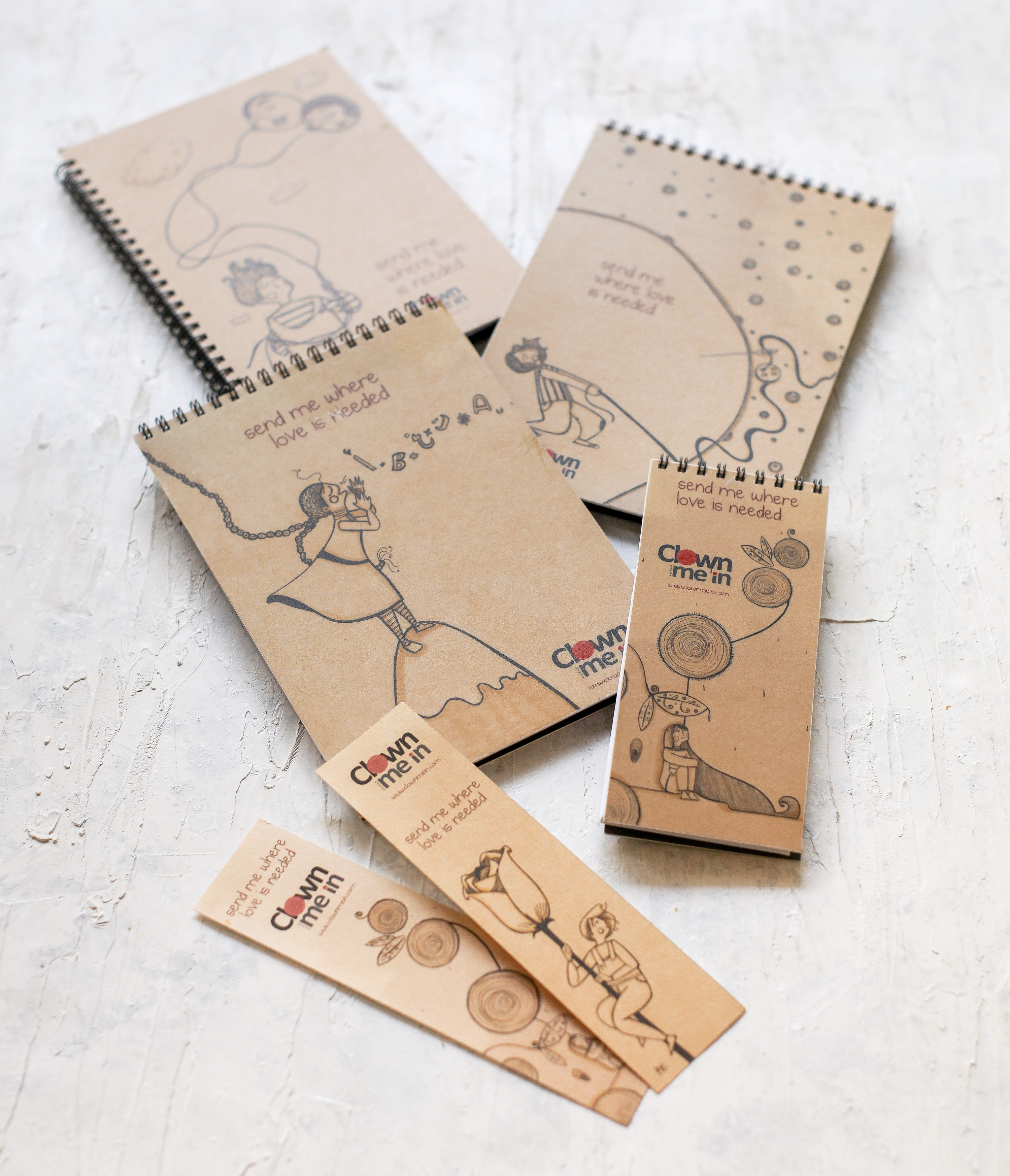 Clown Me In notebooks Dima Nachawi-9718
