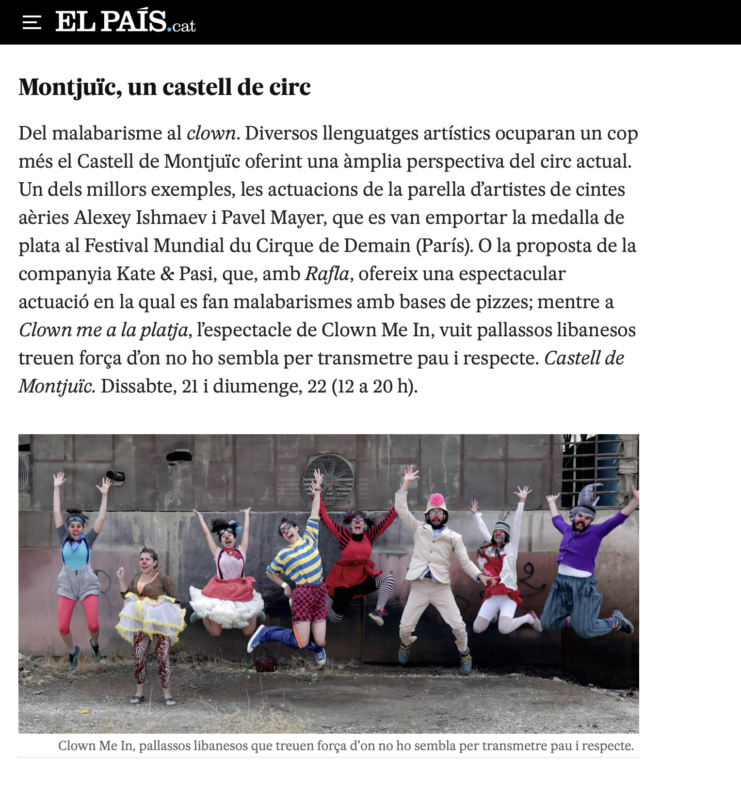 Clown Me In El Pais Cat Montjuic.jpg